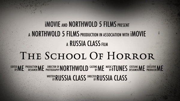 Northwold Primary Y5 School of Horror