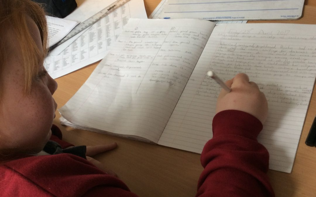 How can filmmaking develop pupils' appreciation of the writing process?